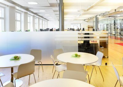 Cafe Area In Modern Brand New Open Space Office
